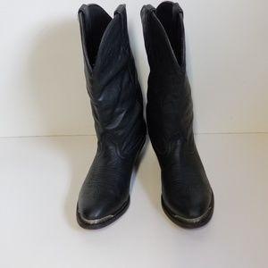 Durango Black Slouch Boots sz 7M
